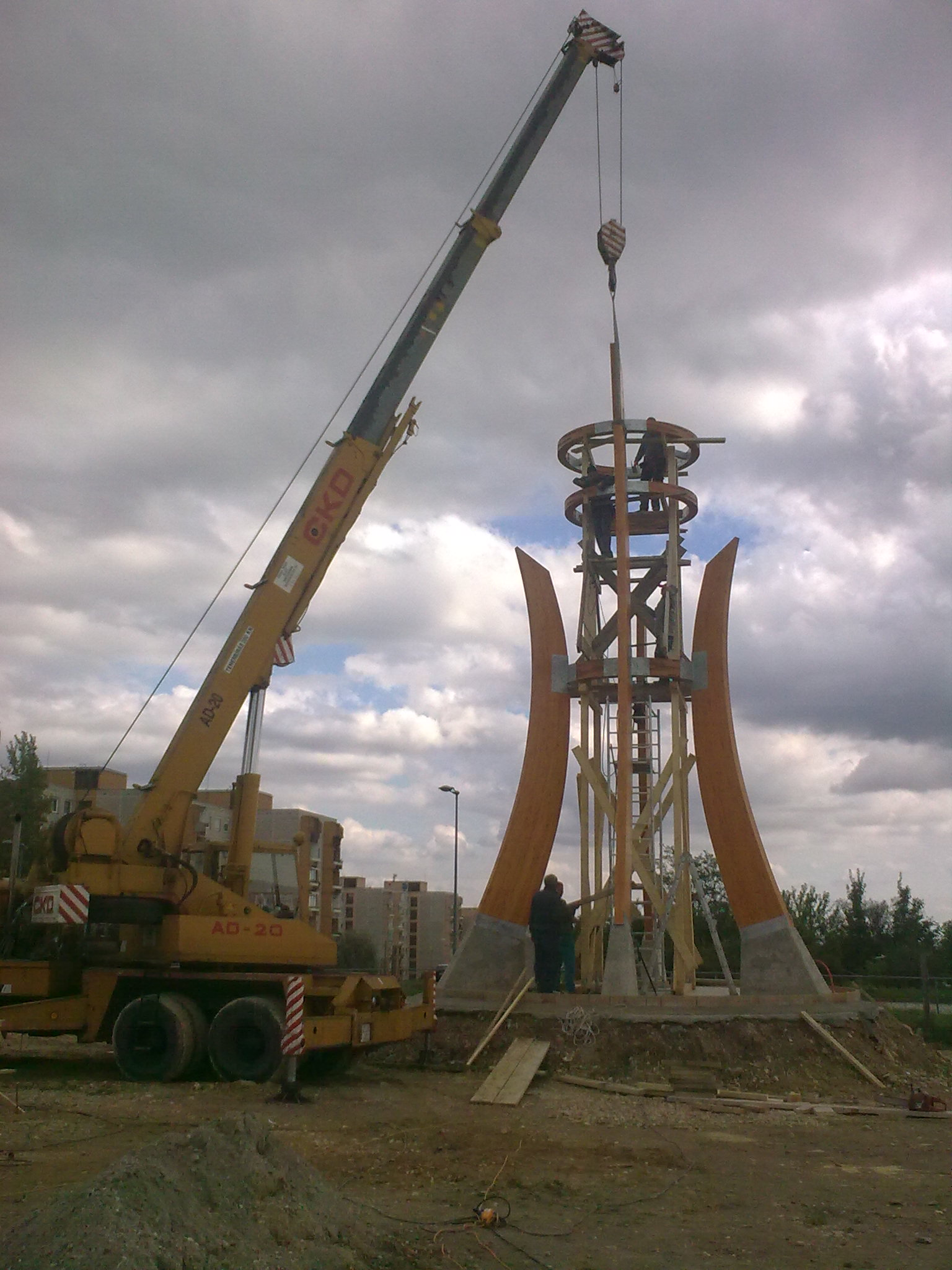 Harang torony, Gazdagrét, Bp XI. ker.